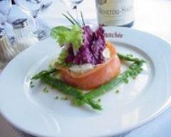 Recette taboulé de chou-fleur au saumon fumé et asperges
