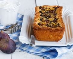 Recette cake aux figues et raisins
