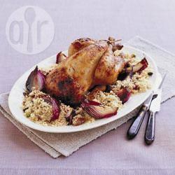 Recette poulet rôti farci au couscous – toutes les recettes allrecipes