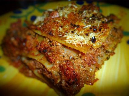 Recette de lasagnes maison à la bolognaise et au jambon