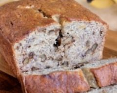 Recette cake aux noix, poires et roquefort ou gorgonzola