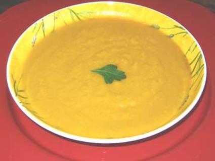 Recette de soupe allégée