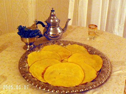 Recette de crêpes mille trous (beghrir)