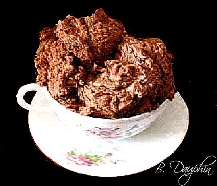 Recette de chantilly de chocolat