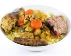 Recette couscous madfoune au poulet