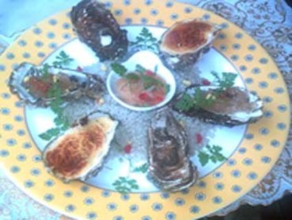 Recette de huîtres en trilogie