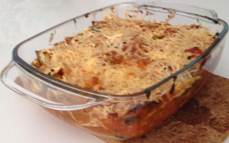 Recette moussaka simplifiée pas chère et simple > cuisine étudiant