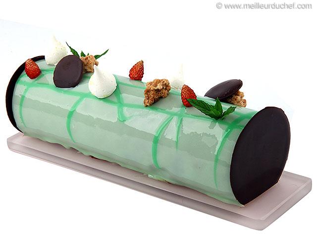 Entremets chocolat menthe  recette de cuisine illustrée ...