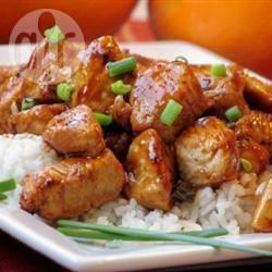 Recette poulet à l'orange – toutes les recettes allrecipes