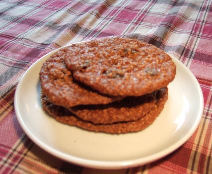 Recette de cookies au sésame et au raisin