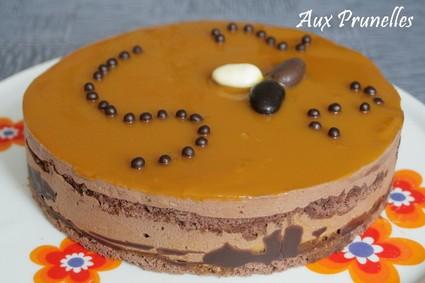Recette entremets chocolat mangue