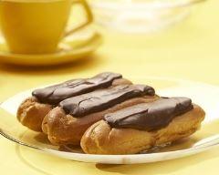 Recette eclairs chocolat et crème pâtissière