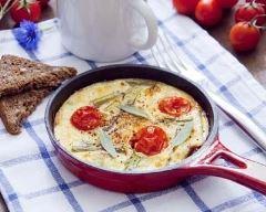 Recette omelette aux tomates cerises
