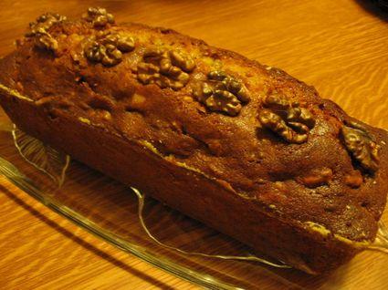 Recette de cake aux noix
