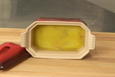 Recette de terrine de foie gras au chocolat facile et rapide