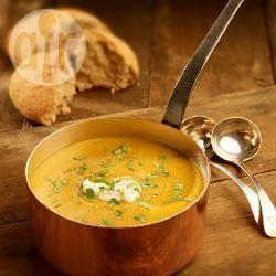 Recette soupe de potiron et kaki au curry – toutes les recettes ...