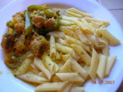 Recette de curry de veau à la française