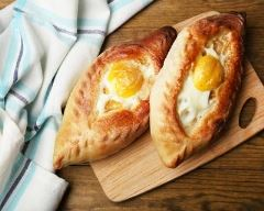 Recette egg boat au fromage