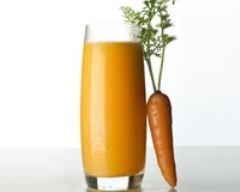 Recette jus de carotte et d'orange
