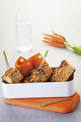Recette de cake-away carotte muesli néroli