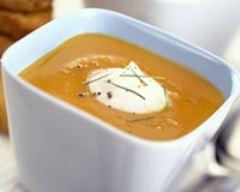 Recette soupe de courge
