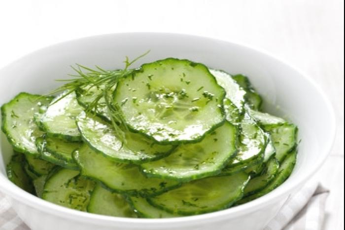 Recette de salade de concombre mariné facile et rapide