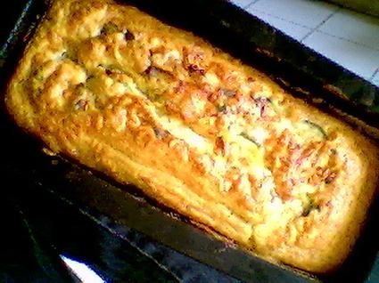 Recette de cake chèvre-courgettes
