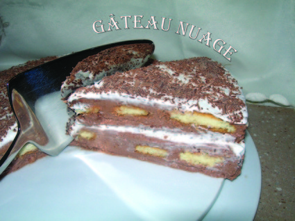 Recette de gâteau nuage