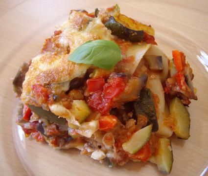 Recette de lasagnes provençales au thon