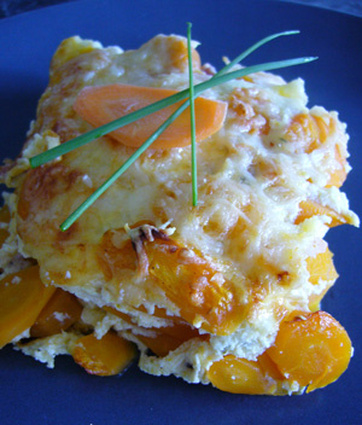 Recette de gratin de carottes à la crème