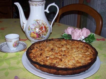 Recette de tarte amandine pomme/poire