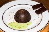 Recette de dômes menthe-chocolat façon after eight