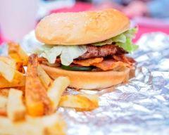 Recette hamburgers au bacon