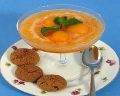 Recette soupe froide de melon