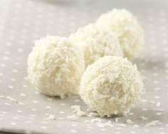 Recette boules de neige à la vanille