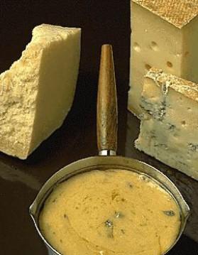 Sauce aux trois fromages pour 4 personnes