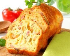 Recette cake au jambon et gruyère râpé