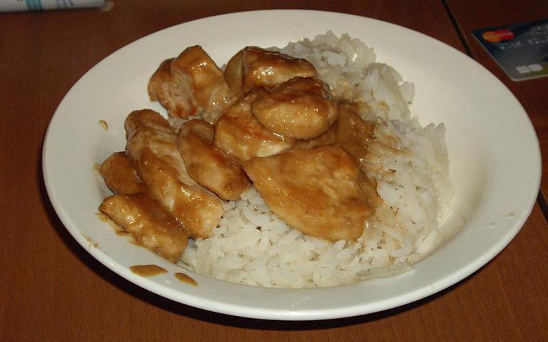 Recette poulet à la crème économique et simple > cuisine étudiant