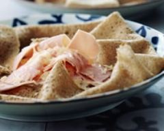 Recette galette jambon-fromage
