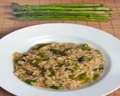 Risotto aux asperges pauvre en sel | cuisine az
