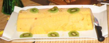 Recette de bûche glacée à la mangue