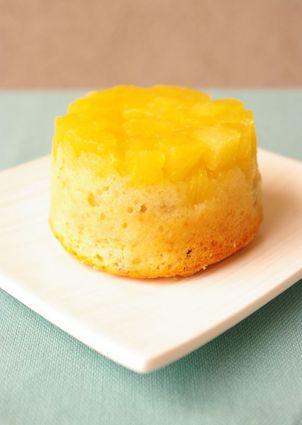 Recette de muffins sans dessus dessous à l'ananas et aux noix