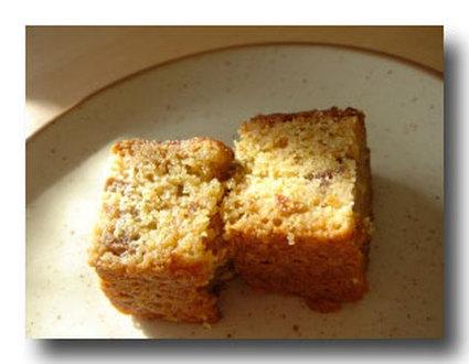 Recette de cake traditionnel fruits secs et cannelle