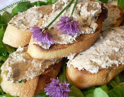 Recette de toasts aux rillettes de sardines