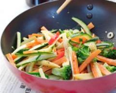 Recette wok de légumes croquants