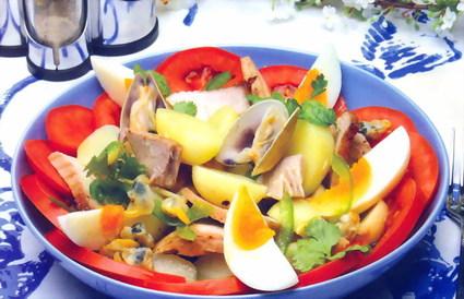 Recette de salade de l'algarve
