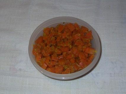 Recette de carottes au thym