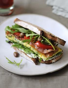 Sandwich roquette pour 4 personnes