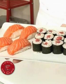 Sushis et makis de thon et saumon pour 6 personnes