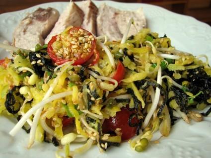 Recette de salade exotique à l'espadon